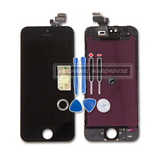 For Apple iPhone 5 5G LCD Digitizer Screen Touch Glass Retina Display Lens Black