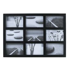 Room Essentials 9-Opening Collage Frame - Black 4x6