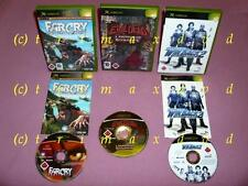 3xXbox_Far Cry Insticts & Operation WinBack 2 & Evil Dead A Fistful Of Boomstick