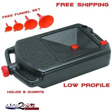 Oil Drain Change Storage Container Pan Motorcycle ATV Scooter Quad Honda Polaris