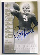 PAUL HORNUNG 2010 Upper Deck Exquisite AUTO /20 GREEN BAY PACKERS IRISH HOF *