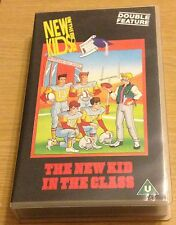 NEW KIDS ON THE BLOCK Cartoon Video (VHS) Double Feature