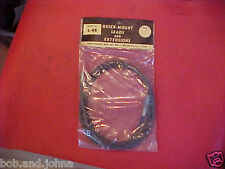 VINTAGE NOS RADIO ANTENNA CABLE LEAD 48 INCH RAT ROD GM MOPAR FOMOCO 40s 50s 60s