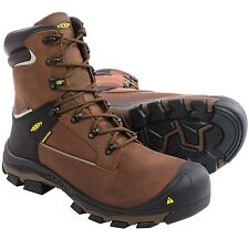 "New Mens Keen Portland PR Work Boots Waterproof, 8"", Aluminum Toe Size 14 EE 2E"