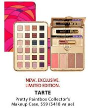 Tarte Pretty Paintbox Collector's Makeup Case Palette $418 Ltd Ed SOLD OUT
