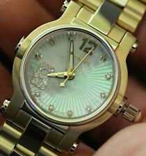 Renato Womens Beauty Petite Limited Ed Swiss Made Diamond Accented TT Watch NEW
