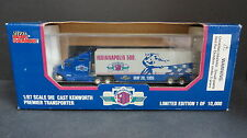 RACING CHAMPIONS DIE-CAST NASCAR 1:87 INDIANAPOLIS  500 KENWORTH TRANSPORTER  Y5
