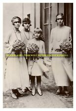 mm597 - young Greek Princesses sisters of Prince Philip of Edinburgh -photo 6x4""