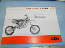 2005 KTM 50 SX Pro Junior Senior LC Chassis & Engine Spare Parts Manual 3208159