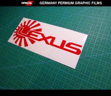 JDM LOGO LEXUS IS250 IS350 F Sport Drift Car Decal vinyl Sticker #02