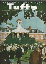 Harvard v Tufts football program, 1965