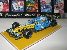 1:18 renault f1 r26 f. alonso British GP 2006 rebuilt transformación top en Showcase