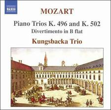 Mozart: Piano Trios K. 496 and K. 502; Divertimento in B flat, New Music