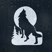 Night Wolf In A Moon Light Car Decal Vinyl Sticker For Window Bumper Panel