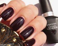 CUCCIO Colour Veneer *ROMANIA AFTER DARK* Burgundy Black LED UV Gel Nail Polish
