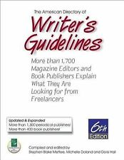American Directory of Writer's Guidelines: More Than 1,700 Magazine Ed-ExLibrary