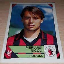 FIGURINA CALCIATORI PANINI 1993/94 FOGGIA NICOLI ALBUM 1994