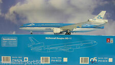 Hogan Wings 1:200 mc donnell douglas md-11 KLM PH-KCB + Herpa Wings catálogo