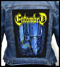 ENTOMBED  --- Giant Backpatch Back Patch / Dismember Nihilist Grave Unleashed