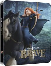 Brave Blu-Ray Steelbook Disney Pixar [Zavvi UK Exclusive] 3D + 2D