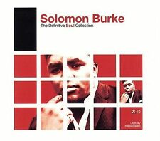 TWO CD SET: THE DEFINITIVE SOUL COLLECTION OF SOLOMON BURKE OOP NEW, SEALED