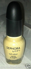 Sephora Nail Polish by OPI * WHY YELLOW THERE * Creamy Yellow  Shade Sealed  New