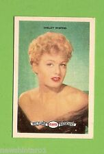 #D160. 1958-64  ATLANTIC PETROLEUM FILM STARS CARD #30  SHELLEY WINTERS