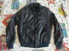 Vintage MEMBERS ONLY Cafe Racer Motorcycle Biker Blue Gray Jacket Mens M 44