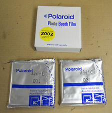 Polaroid Photo Booth - 339 FILM- NOS - 2 Packs = 20 Pictures - 07/03