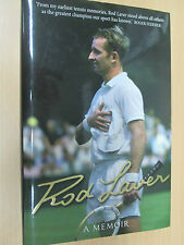 Rod Laver A Memoir SIGNED Australian Tennis Grand Slam winner Wimbledon US Open