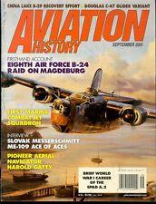 AVIATION HISTORY SEP 01 USMC VMF-311 F9F KOREA / WW2 MIGHTY 8th AF B-24 RAID BG