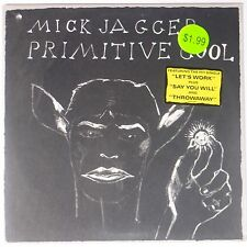 MICK JAGGER: Primitive Cool SEALED Vinyl LP Rare w/ STICKER Rolling STones