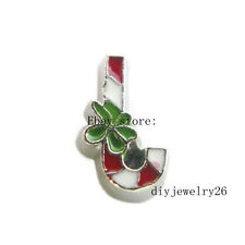10pcs Christmas candy Floating Charms Fits For Glass Living Memory Locket FC1101