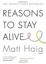 Reasons to Stay Alive by Matt Haig Paperback BRAND NEW BESTSELLER