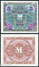 ALEMANIA GERMANY 5 marcos 1944 allied occupation note  Pick  2 a   SC / UNC