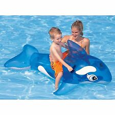 Li'l Blow up Inflatable Whale 152 x114 cm kids swimming pool holiday fun 58561NP