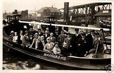 18726/ Originalfoto 9x13cm, Hamburg, Hafenrundfahrt, 1933