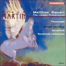 Frank Martin: Symphonie, for Large Orchestra / Symphonie Concertante, for Large