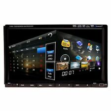 "2Din Car Stereo 7"" HD Android Car DVD Sat Nav GPS 3G WIFI Radio RDS iPod Player"