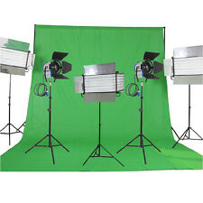 Kit 2x1000W Fresnel Tungsten Lights 3xFluorescent 6 bank light 30sqm home studio