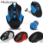 2.4GHz Wireless Mäuse 3200DPI USB Maus Optisch Gaming Mouse Computer PC Laptop