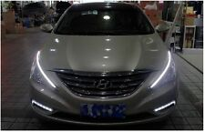 Head light Chrome Molding 2Way LED Eyeline Lamp Light For 11~2014 Hyundai Sonata