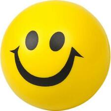 Palla Gialla Sorridente Antistress Gadget Ufficio Festa Giocattolo