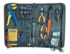 NEW 25pc Electronic Tool Set Electrician Kit Electrical tools Service Repair.