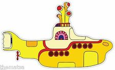 YELLOW SUBMARINE BEATLES HELMET LAPTOP TOOLBOX BUMPER STICKER DECAL MADE IN USA