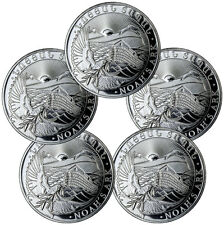 2017 Armenia 500 Drams 1 oz. Silver Noah's Ark - Lot of 5 Coins SKU45191