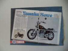 advertising Pubblicità 1981 MOTO YAMAHA XV 750 SPECIAL