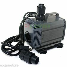 UL 792GPH Submersible Koi Aquarium Pond Water Pump Freshwater Saltwater 85W
