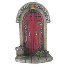 New Mini Fairy Door/Red Double Fairy Door /Fairy Garden Miniature Door - 9cm