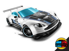 Hot Wheels Cars - Aston Martin Vantage GT3 White